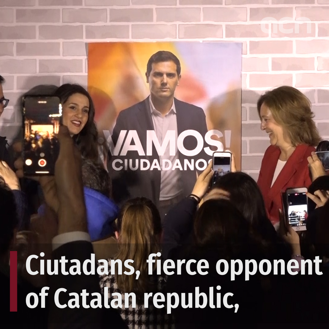 Ciutadans: opposing Catalan independence to rule Spain