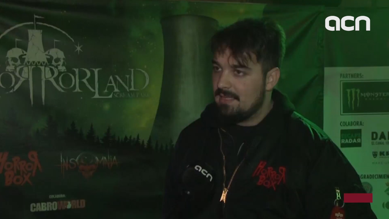 Horrorland theme park co-director talk about their most frightening attraction