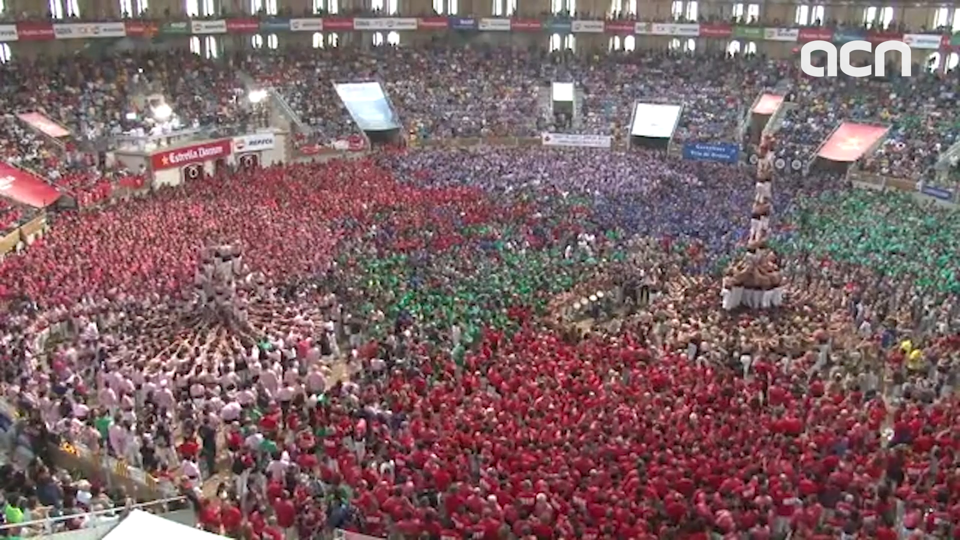 Catalonia's main 'castells' contest to be held in Tarragona this weekend