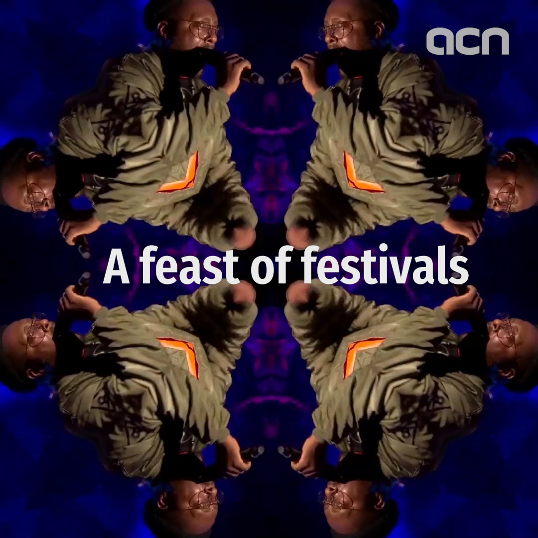A feast of festivals