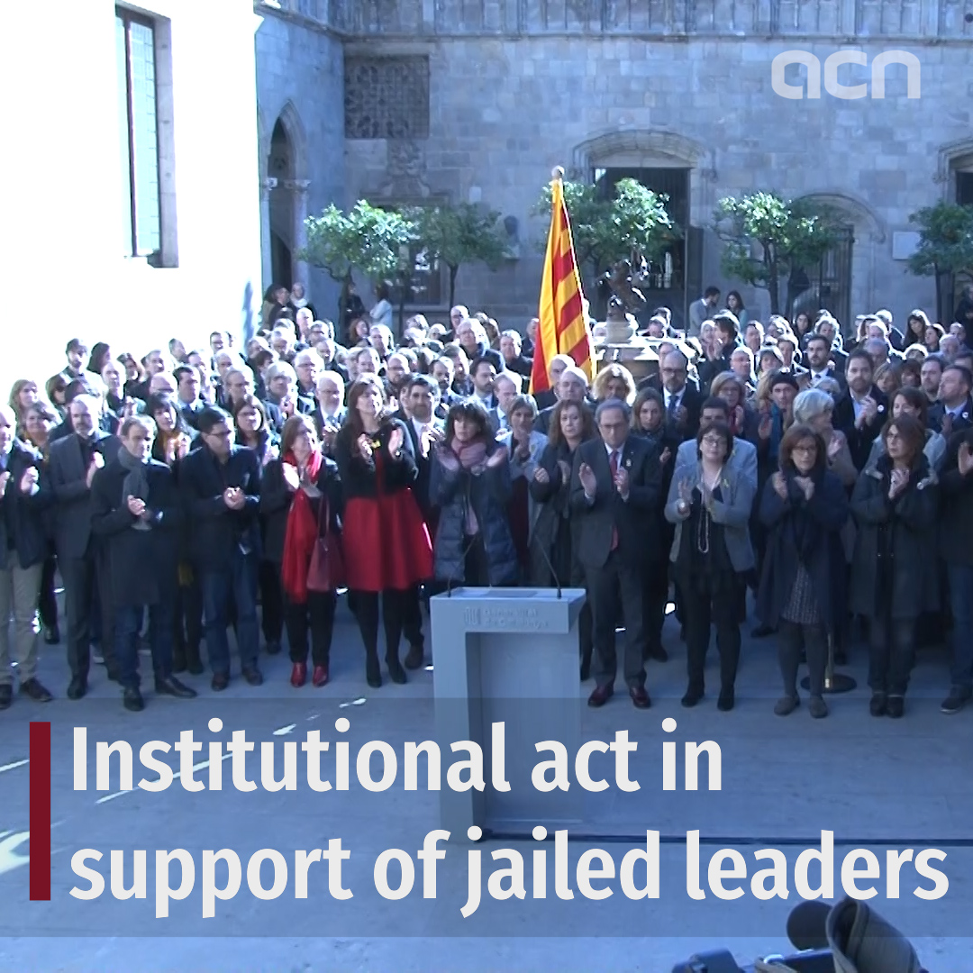 Institutional event to support relatives of jailed leaders