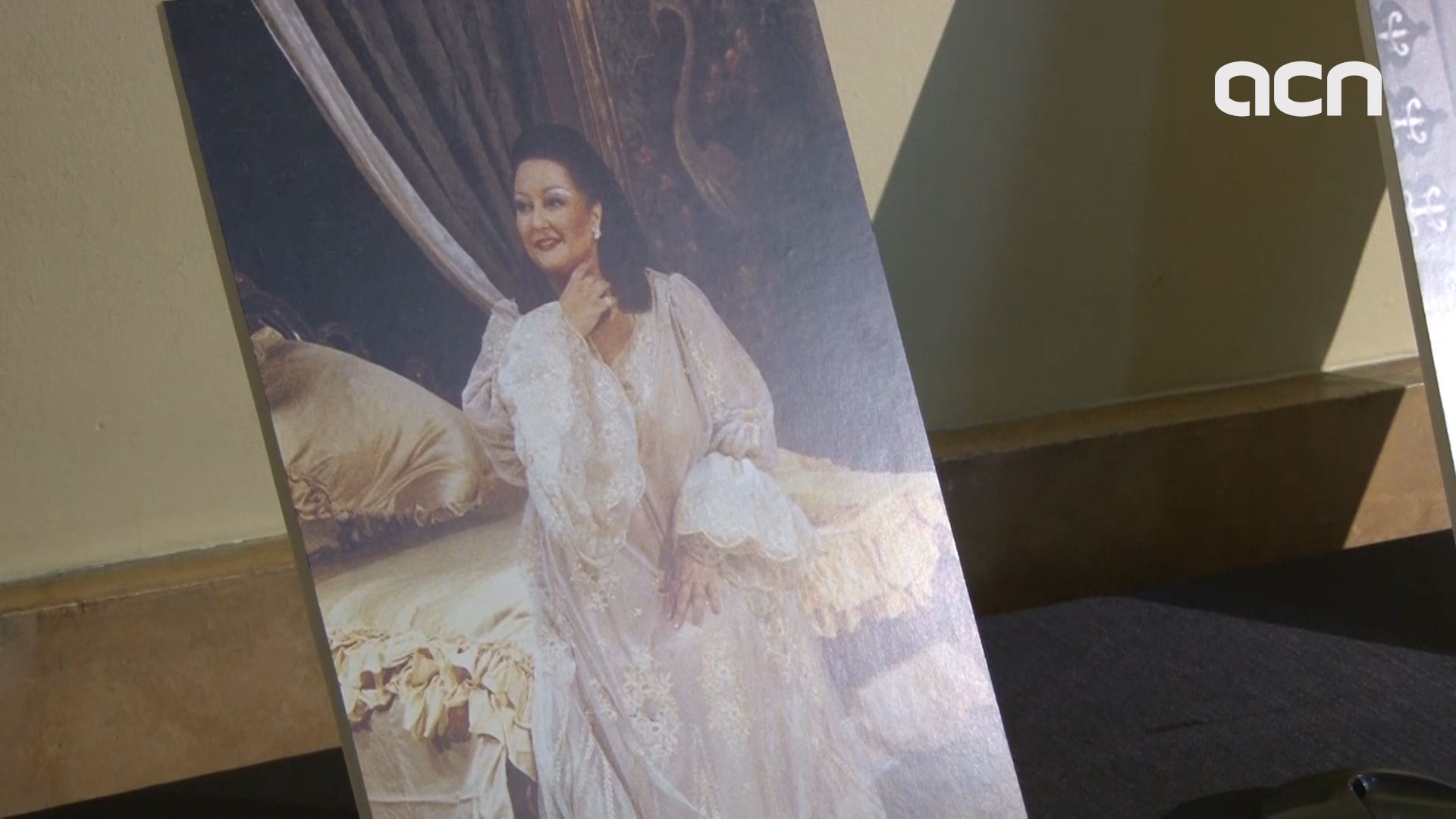 Montserrat Caballé's voice played in soprano's funeral