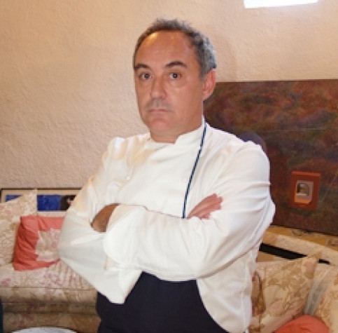 Ferran Adrià, considered by many the best chef in the world in the last 10 years