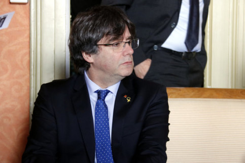 Former Catalan president Carles Puigdemont in Geneva on December 20 2018 (by Jordi Pujolar)