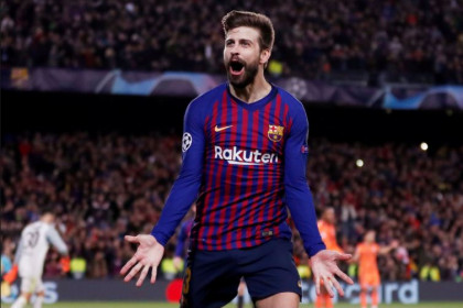 Gerard Piqué is back in the international fold for Catalonia