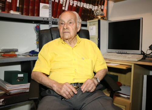 Miquel Morera, 97-year-old Spanish Civil War veteran