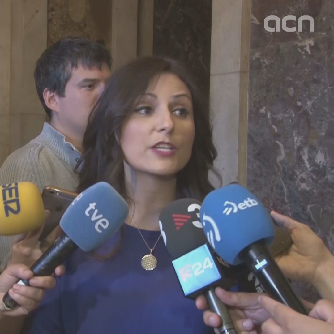Ciutadans' Lorena Roldán on Miquel Iceta being rejected for the Senate