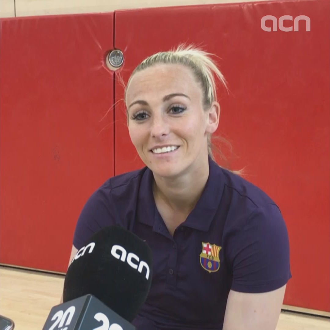 Toni Duggan on FC Barcelona's Champions League final clash with Lyon