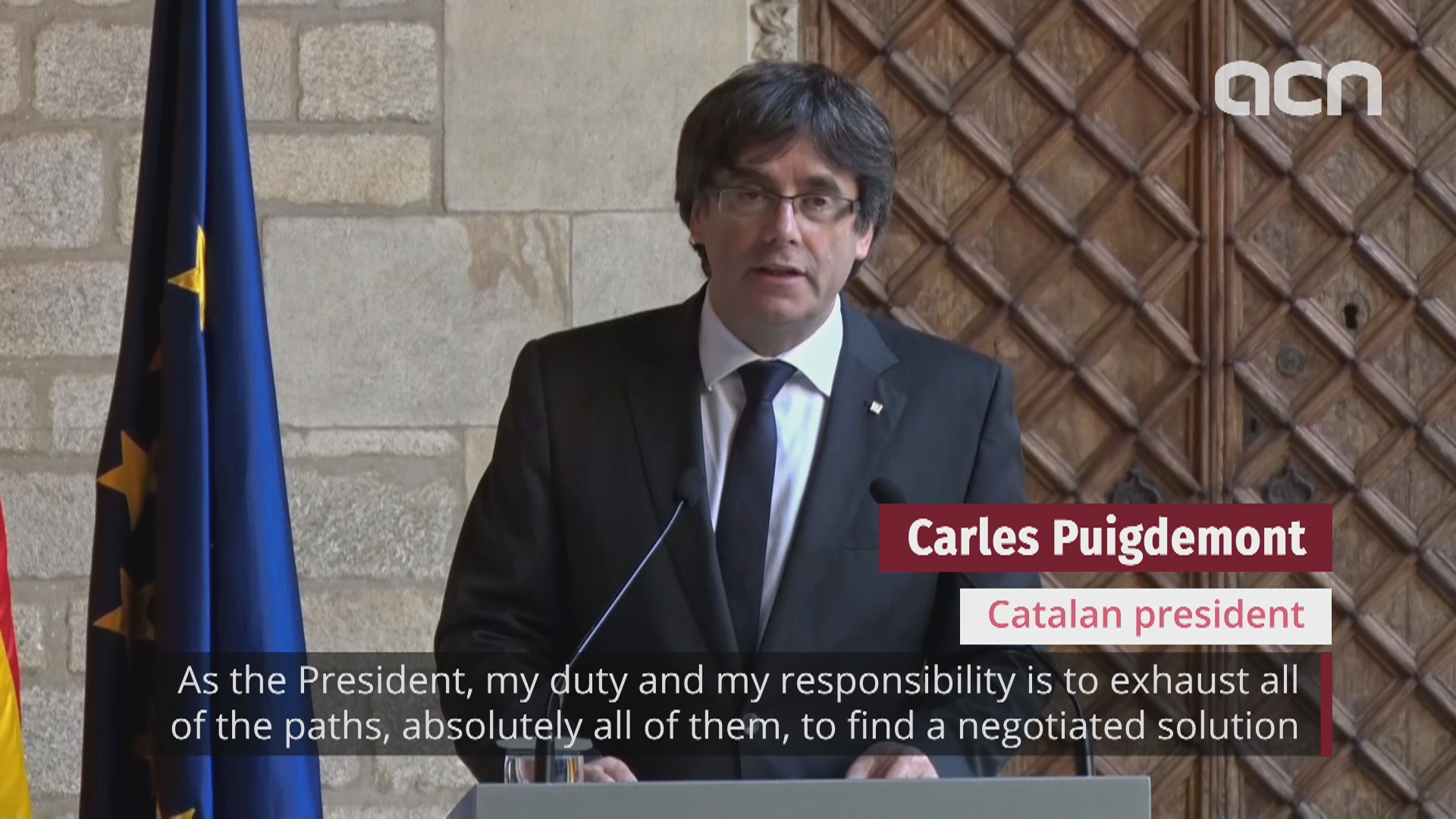 Declaration of independence back on the table - Puigdemont won't call early election