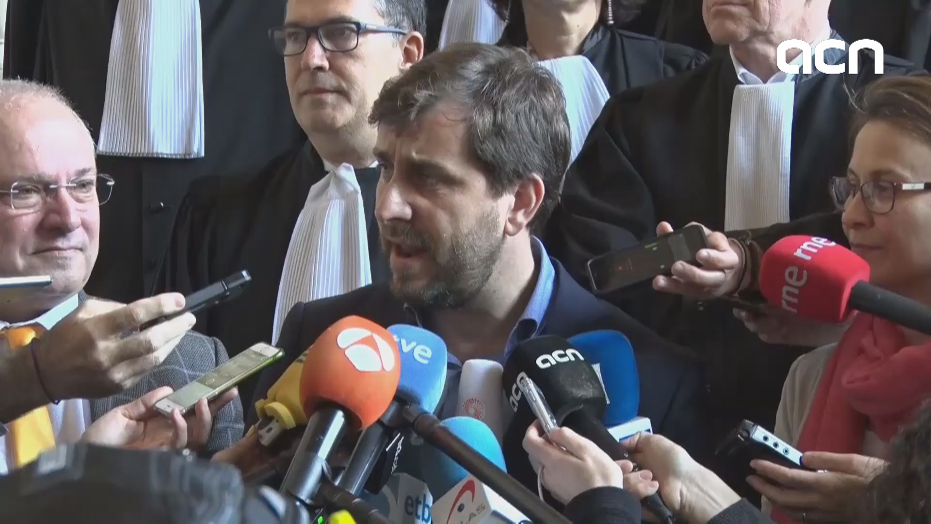 """It is a judicial victory for us and everyone being persecuted by Spanish judiciary,"" says deposed MP on Belgium's rejection on Spain's extradition request"