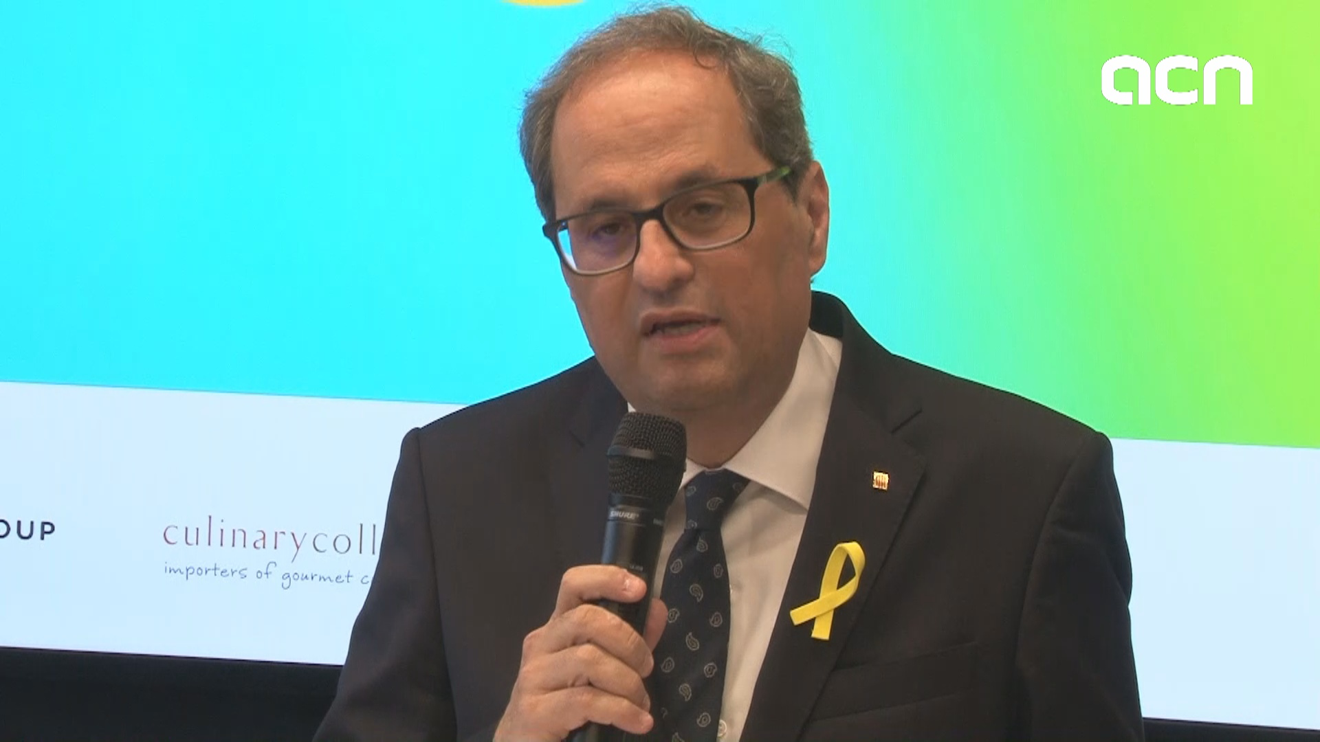 """Regression of democratic rights in Spain is intolerable for any democracy,"" says Catalan president"
