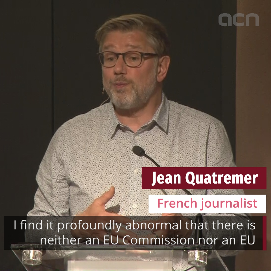 Journalist Jean Quatremer reflects on lack of EU presence at award ceremony
