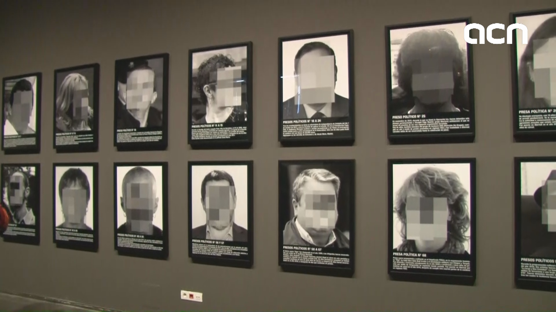Banned artwork on display in Lleida