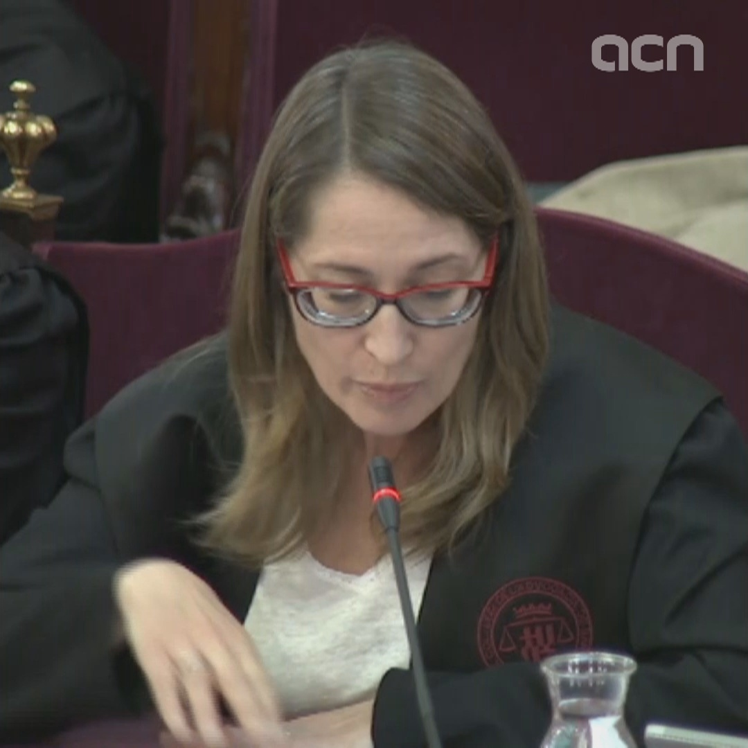 Closing arguments of Marina Roig, defense lawyer of Jordi Cuixart