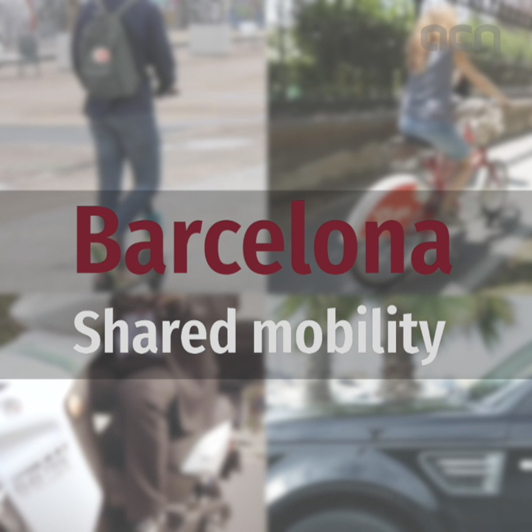 Shared mobility solutions in Barcelona and Catalonia