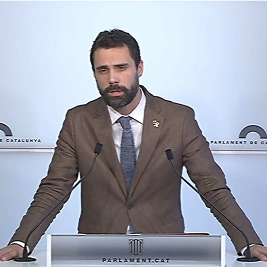 Parliament speaker Roger Torrent on the ship captains who rescue refugees in the Mediterranean