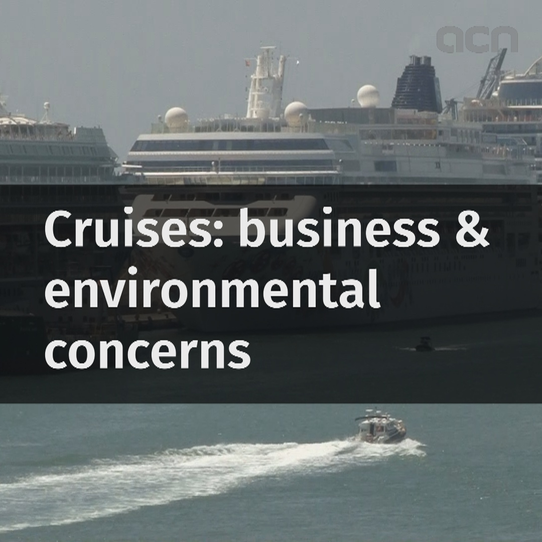 Cruises: Business & environmental concerns