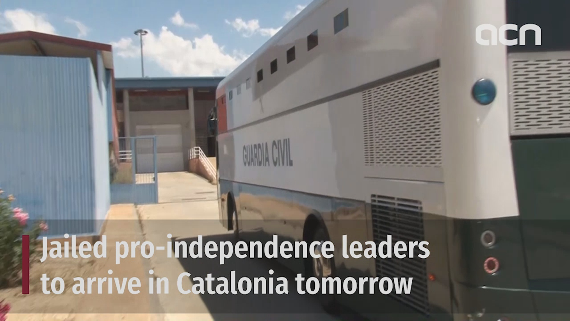 Jailed pro-independence leaders to arrive in Catalonia on Wednesday