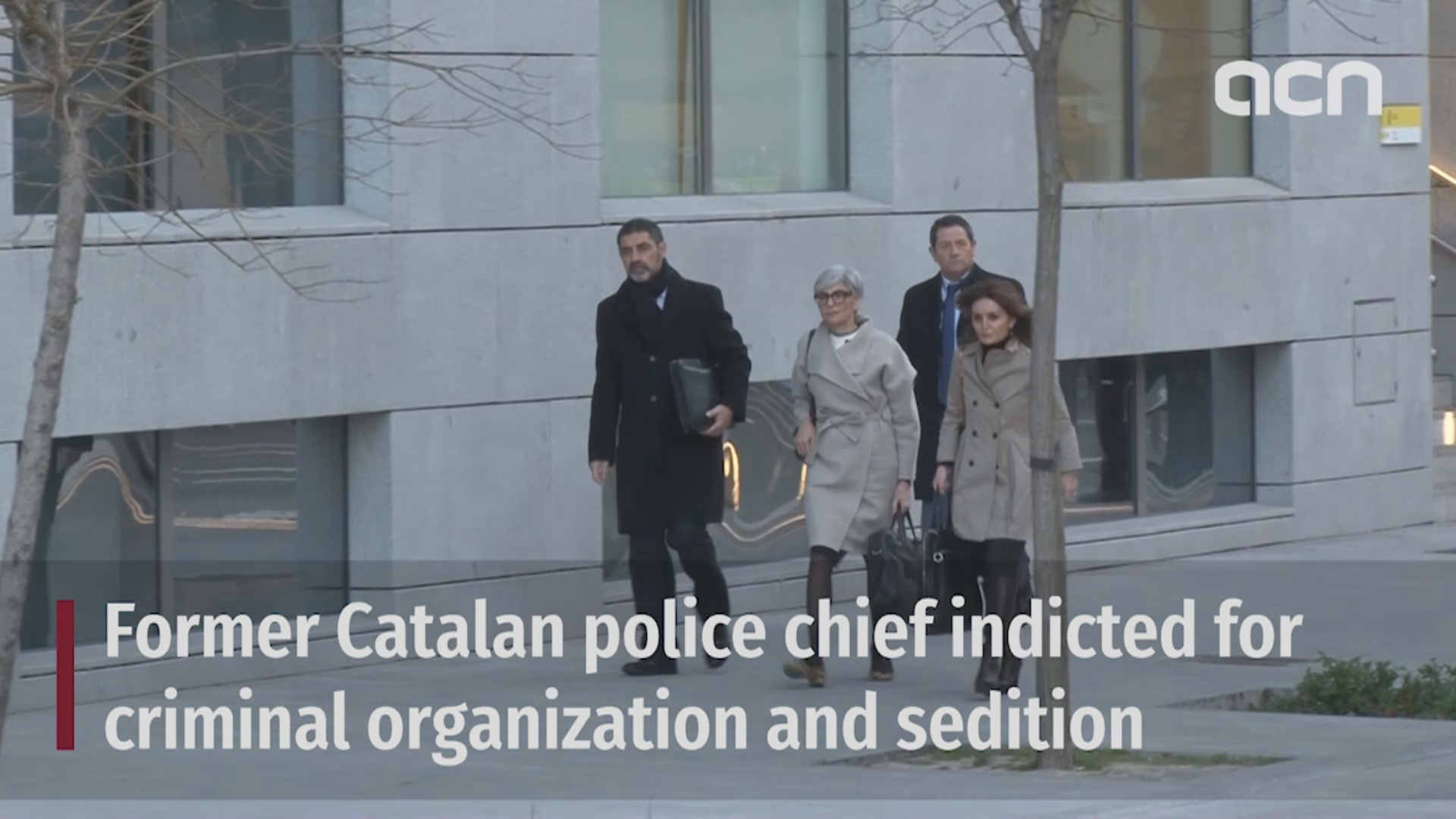 Former Catalan police chief indicted for criminal organization and sedition