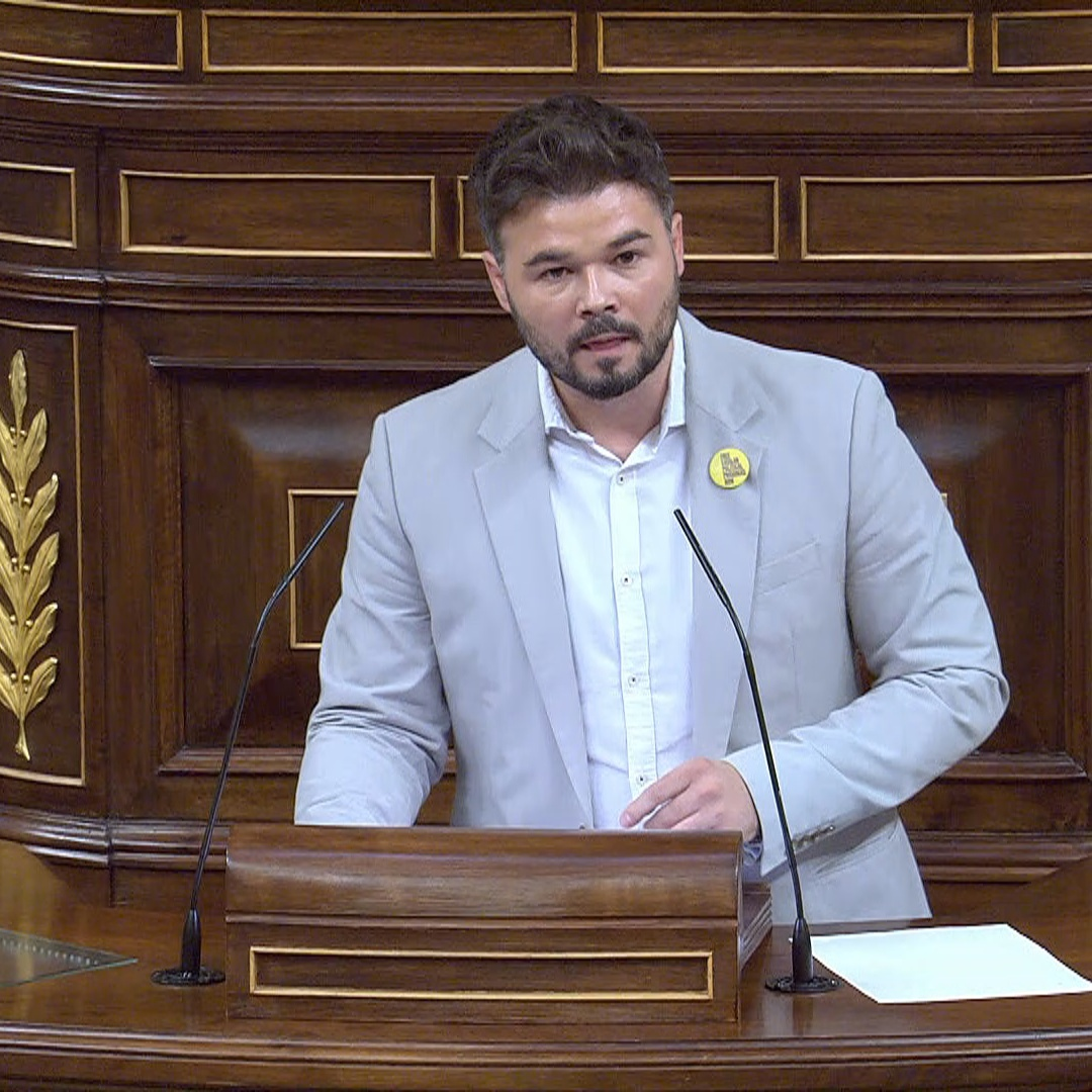 Gabriel Rufián of ERC calls the lack of agreement 'regrettable'