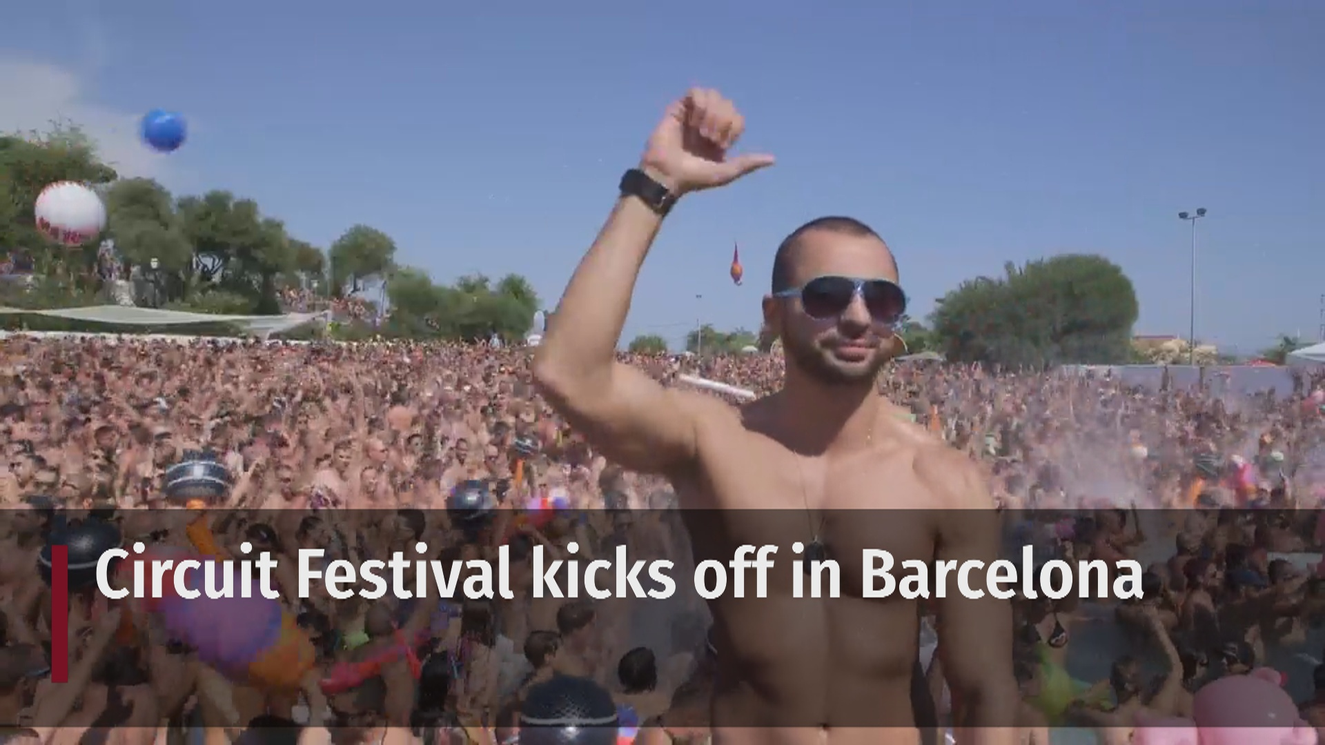International gay festival kicks off in Barcelona