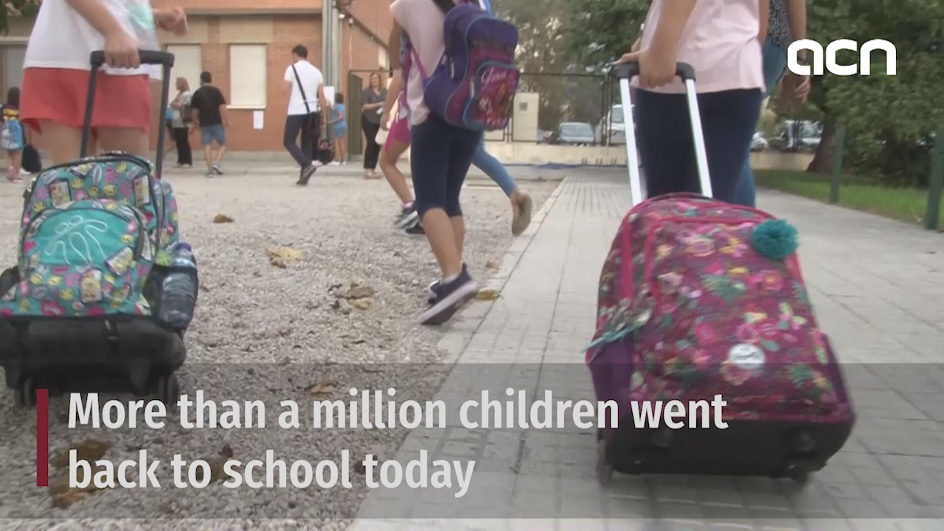 Back to school: more than 1M pupils return to classroom