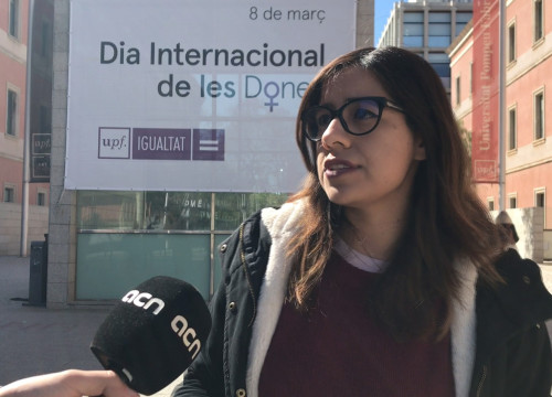 Erendira Leon is a senior campaigner for Barcelona Women's March