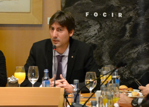 The Secretary for Foreign Affairs, Jordi Solé (by ACN)
