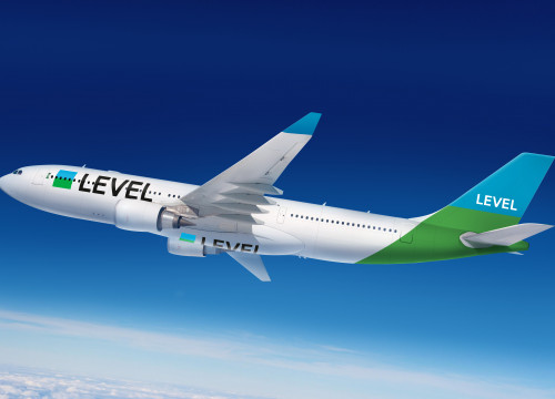 Virtual image of 'LEVEL', the new IAG's low-cost branch (by IAG)
