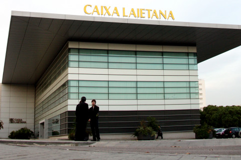 Caixa Laietana's headquarters, located in Mataró