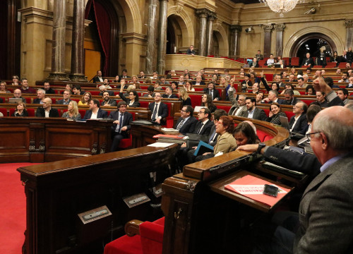 MPs in the Catalan Parliament (by ACN)