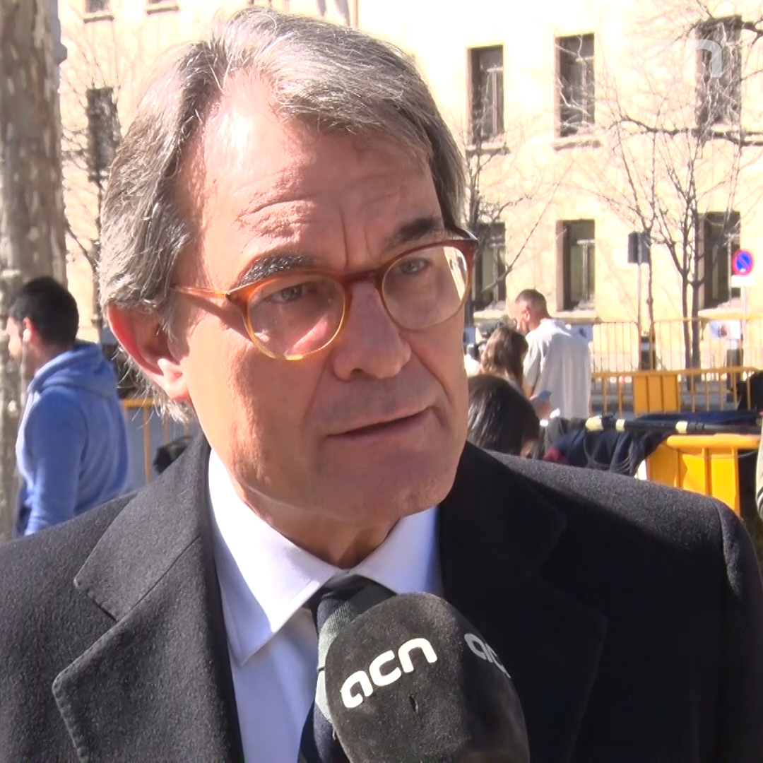 'There was no rebellion, because there was no violence,' says former Catalan president Artur Mas