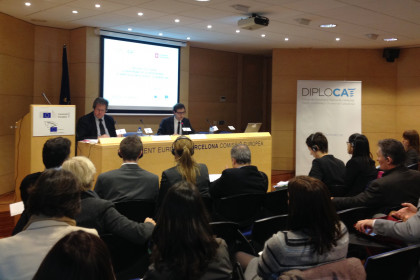 The conference organised by Diplocat in Barcelona about the Responsibility to Protect (by Diplocat)