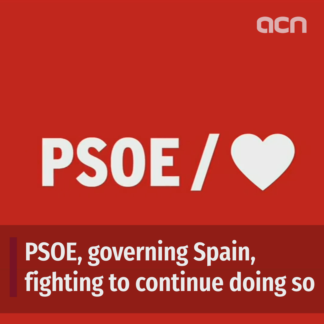 PSOE: Spain's governing party, fighting for its position