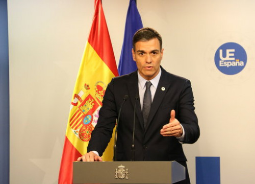 Pedro Sánchez announced the policies on Wednesday morning