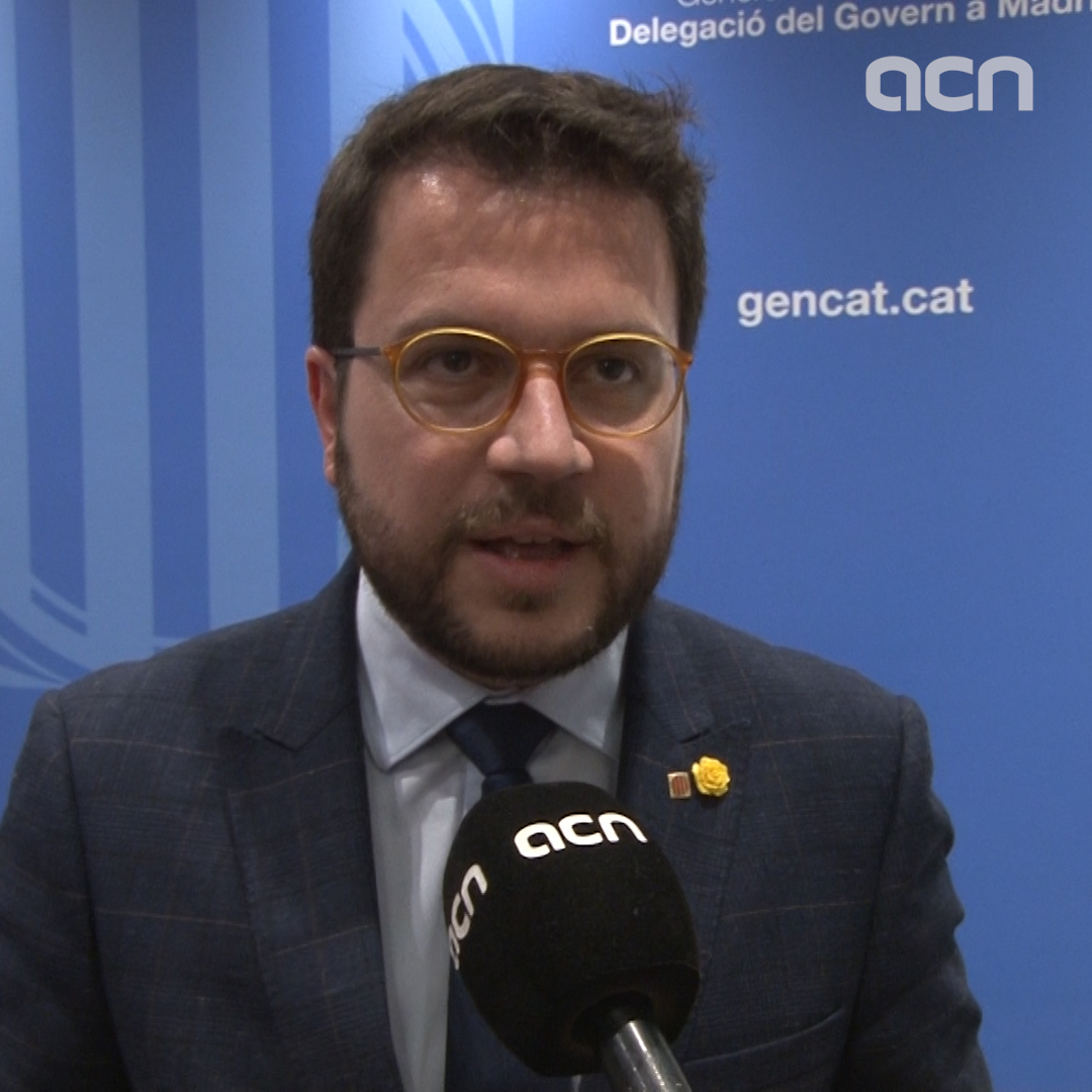 """Oriol Junqueras explained that organizing a referendum on october 1st is not a crime"" says Catalan vice president Pere Aragonès"