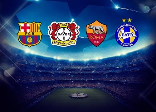 Bayer Leverkusen, AS Roma and BATE Borisov will be FC Barcelona's opponents in group E (by FCB)