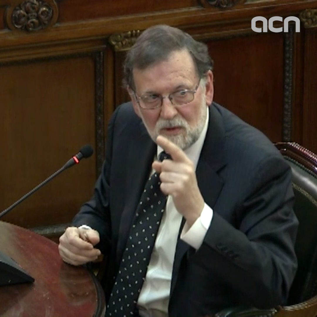 "Spanish government ""did not negotiate"" referendum, says Rajoy"