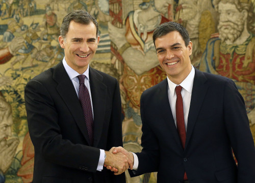 Spain's King, Philip VI and PSOE's leader, Pedro Sánchez agreed to start trying to form a new government in Spain (by ACN)