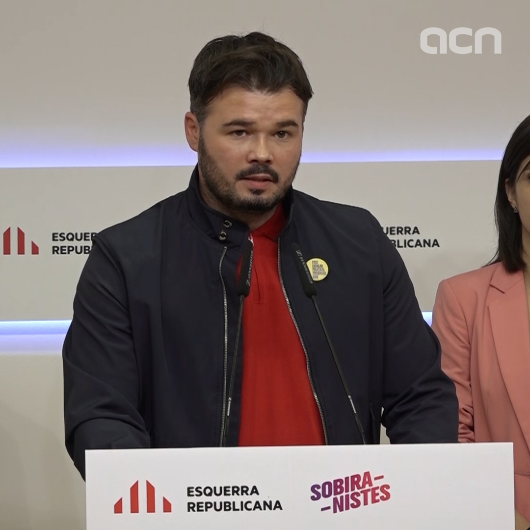 ERC wants PSOE to 'return political conflicts back to politics'