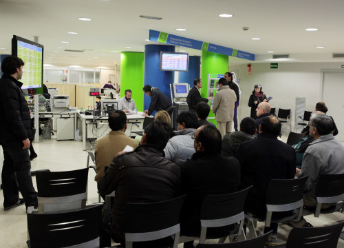 Job Centre in Barcelona (by ACN)