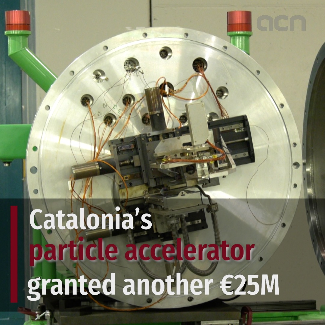 Catalonia's particle accelerator granted another €25M