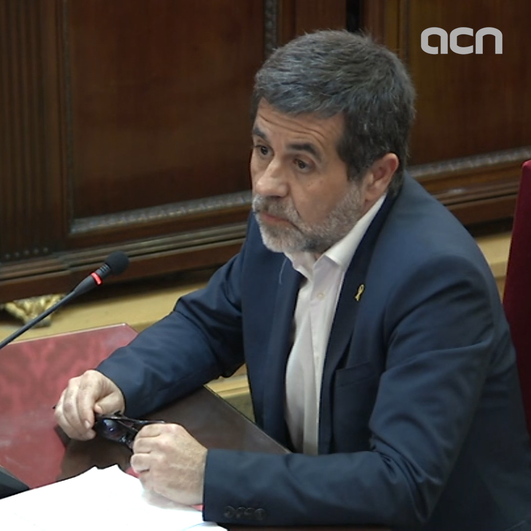 Jordi Sànchez says the sentence can't 'make the political crisis worse'