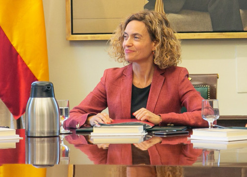Spanish Speaker of Congress Meritxell Batet on May 25 (Spanish Congress)