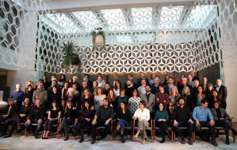 The Gaudí award nominees photographed at Ruscalleda's Blanc restaurant on January 11 2018 (by Pau Cortina)