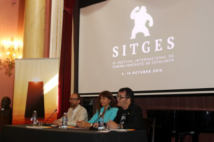 The International Fantastic Sitges Film Festival is presented at the Reial Cercle Artístic of Barcelona on September 26, 2018 (by Pere Francesch)