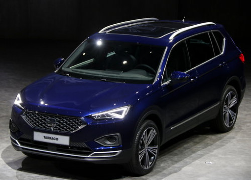 The SEAT Tarraco model on September 18 2018 (by Roger Segura)