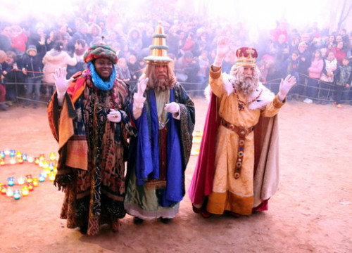 The Three Kings arrive in Girona on January 5 2018 (by Gerard Vilà)
