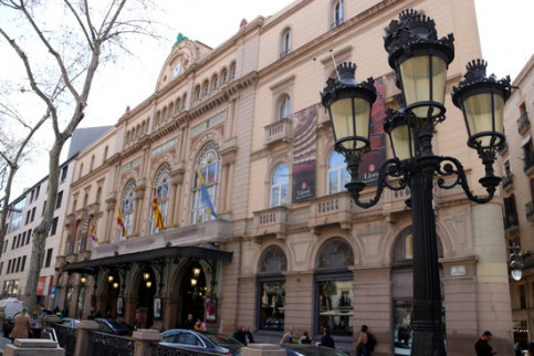 The Liceu theater in Barcelona (by ACN)