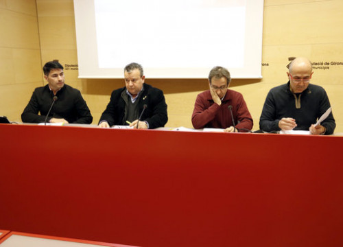 The press conference for Costa Brava's candidacy on February 14 2019 (by Aleix Freixas)